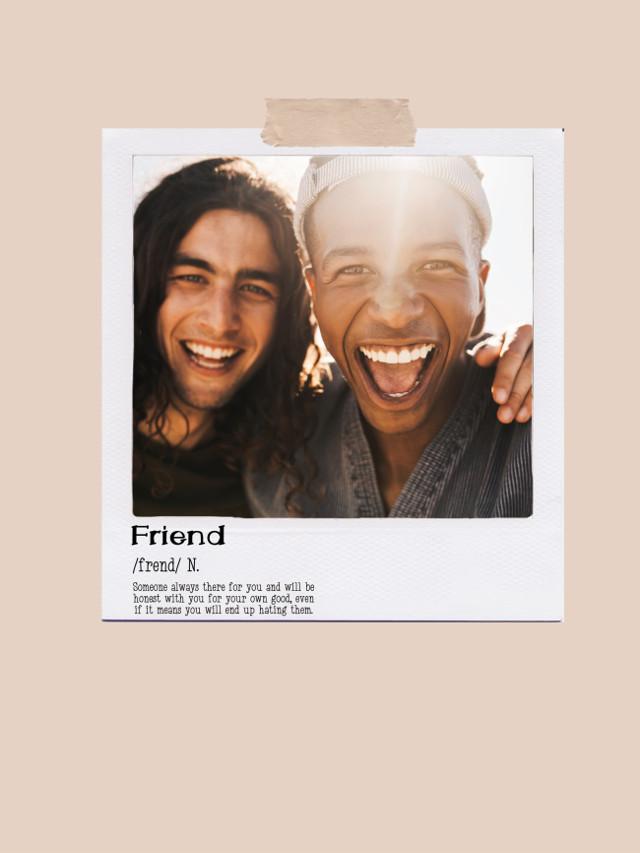 #freetoedit #polaroid #polaroidframe #polaroidphoto #template #friends #friend #noun #tape