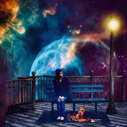 myriam70 surreal waiting planets