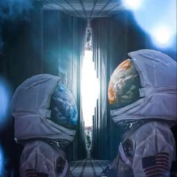 astronaut astronauta spacetraveler couplelove couplegoals freetoedit