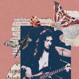johndeacon deakyedit deacy music classicrock pinkaesthetic brownaesthetic musicaesthetic bassguitar bass bassplayer bassist queenband freetoedit