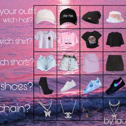 shows hat shorts shirt cap chain table moreofthat black white wichdoyouwant pleaseremix freetoedit