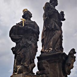 freetoedit prague czech architecture statue margarita