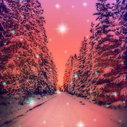 madewithpicsart background backgrounds wallpaper art snow winter freetoedit