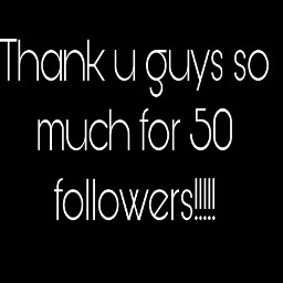 50followers thanks omg repost