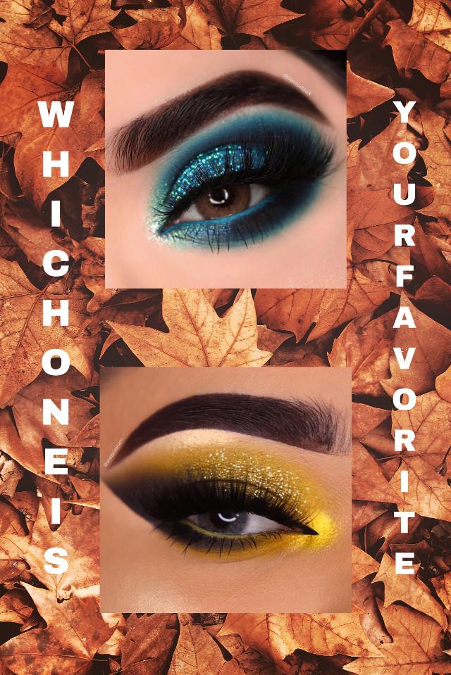 Which one is ur favorite ?❄️ eyetutorials on snapchat SCREEN💘🌈 #eyetutorial #screenshot #snapchat #choose #glitter #blue #yellow #eyes #eye #eyeshadow #eyelashes #eyeart #eyebrows #eyebrow #eyemakeup #eyeedit #makeup #makeuplover #makeupart #makeupartist #makeupaddict #makeupgoals #makeuplook