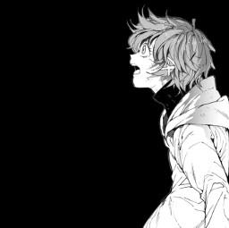 tpn emma thepromisedneverland manga anime animeappicon grey black white