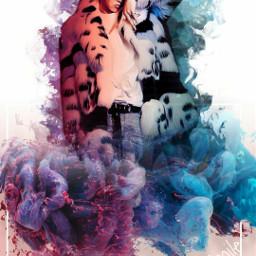 asweetsmile1 gdragon kpop korean gd koreanpop bigbang smoke rainbow surreal surreality picsart