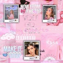abbyroberts makeupartist pink freepfp freetoedit