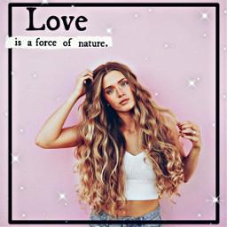 girl pink love freetoedit