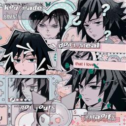 giyuutomioka giyutomioka kimetsunoyaiba demonslayer kny knyedit demonslayeredit complexedit animeedit
