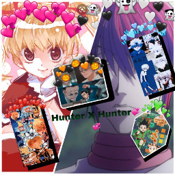 collage hunterhunter freetoedit