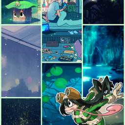 froppy myheroacademia anime animeedit animegirl animeaesthetic green rain swamp tsuyuasui myheroacademiatsuyu myheroacademiaedit freetoedit