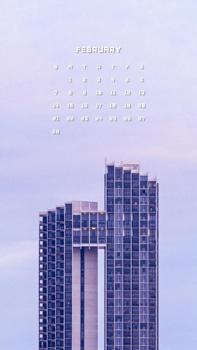 #2月のカレンダー #februarycalendar #calendar #2021 #2月 #february #picsart #picsartedit