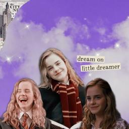 harrypotter harrypotteredit hermionegranger hermionegrangeredit hermione hermioneedit harry ronweasley thegoldentrio freetoedit