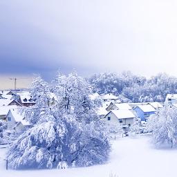 freetoedit january 2021 snow neighborhood