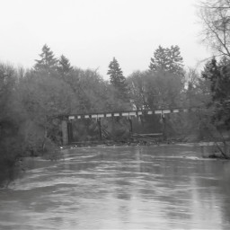 yamhillriver flood waterrising risinfwater darkwater puddle bridgeoverwaters scenery oregonrain oregonpuddle puddlejumpers