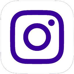 darkpurple instagram logo icon