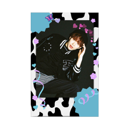 nct nct127 jungwoo card deco black purple blue stecker seal ribbon 정우 김정우 포카 폴꾸 ジョンウ カード ステッカー シール 緑 黒 くろ freetoedit