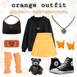 orange orangeclothes brandymelville freetoedit