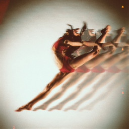 dancer leaping freetoedit