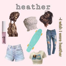 heather wishiwereheather glossier pennyboard freetoedit