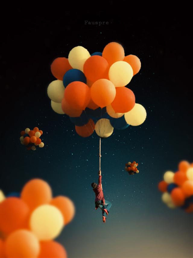 Up&Up #upinspace  #globos  #surreal  #madewithpicsart  #heypicsart  #papicks  #visual_creatorz  #visual_art  #fauspre