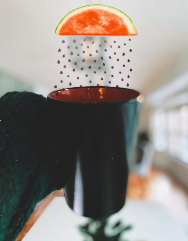 #sandia 🍉 #watermelon #coffeecupdecoration