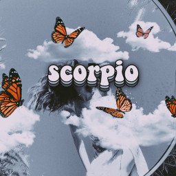 scorpio butterflys mirror freetoedit