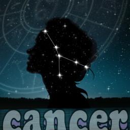 horoscopes cancer stars sky freetoedit echoroscopes