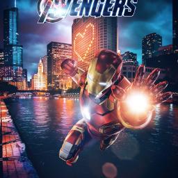 freetoedit ironman avengers tonystark chicago