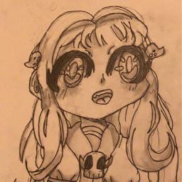 freetoedit nene yashiro yashironene neneyashiro toiletboundhanakokun drawing anime tbhk yes