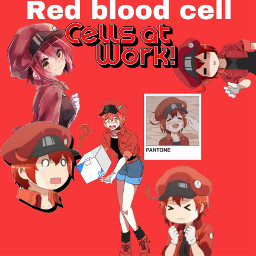 cellsatwork redbloodcell freetoedit