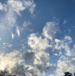 park pretty clouds
