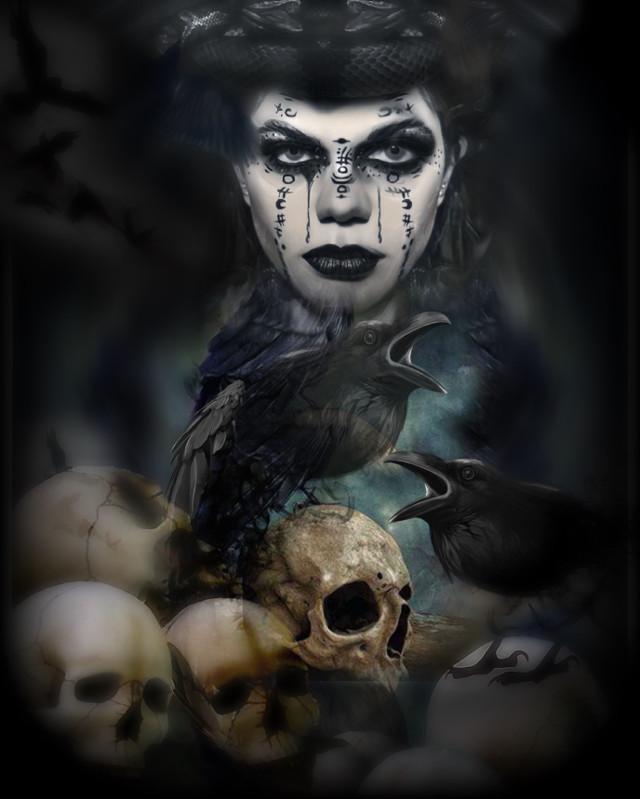 Not free to edit original photo @skylarkvisuals of instagram  please check out her wonderful gallery #skullart