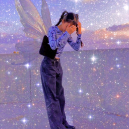 fairy aesthetic y2k pinterest papicks heypicsart fairyaesthetic y2kaesthetic y2kfairy trending trendy art interesting birthday sky freetoedit