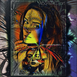 abstractart beautifulladies colorfullife