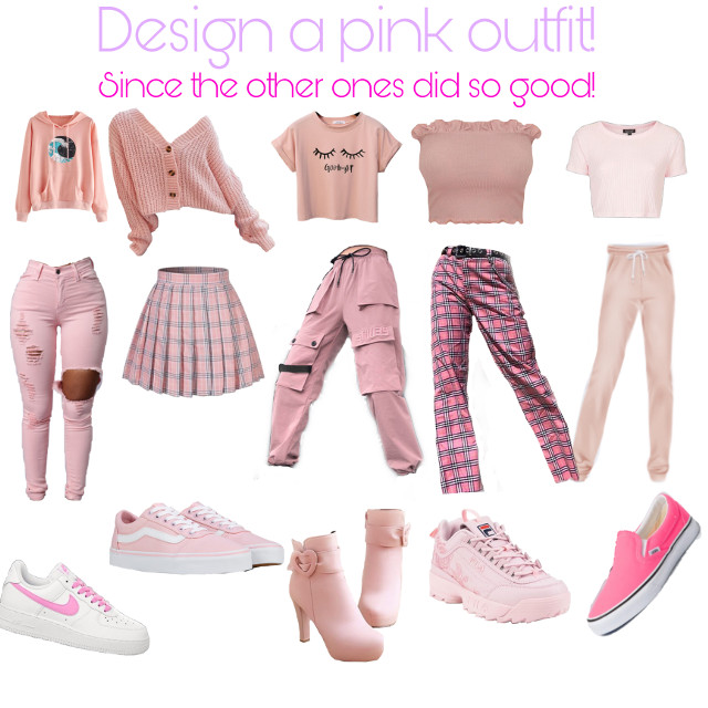 Design a pink outfit! Last time we got 5000 views! Can we get the same amount of remixes? Follow @anime_trash02  and thx for supporting #remix #freetoedit #remix #freetoremix #pls #pleaseedit #remixpls #plssupports