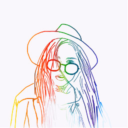 rainbow sketch draw autodesksketchbook howtoedit scribble scribblesart freetoedit