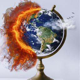 climatechange earth savetheplanet freetoedit irctheglobe theglobe