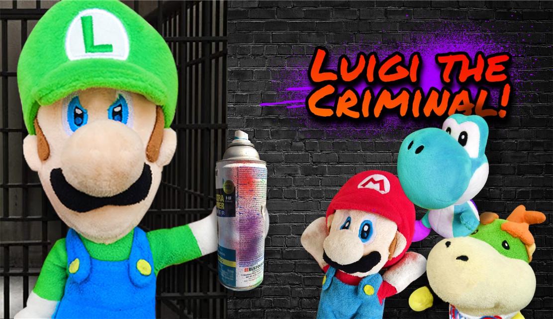 #luigi the criminal! #crazymariobros