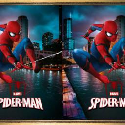 freetoedit spiderman avengers 3d