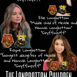 ellielongbottom indiaeisley allielongbottom sabrinacarpenter raynelongbottom rowanblanchard gryffinpuff freetoedit