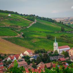 photography travel colorful landscape nature vineyards