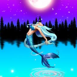 moon music interesting beach sea party night sky summer mermaids mermaidworld mermaidcrown mermaidlife jump moonlightmagiceffect forest mermaidhair lake mermaidnight magic magiceffects magicmermaid freetoedit
