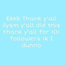 101followers 1kfollowers