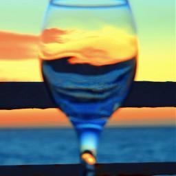 sunset glass vinadelmar chile unedited naturethroughmyeyes