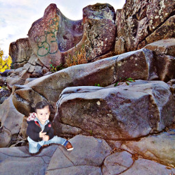 baby rocks freetoedit