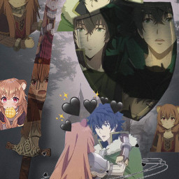 raphtalia theshieldhero naofumi naofumixraphtalia japan anime crunchyroll elheroedelescudo tatenoyuusha therisingoftheshieldhero