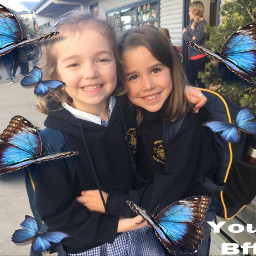 whenwewe s bestie freetoefit remixit youcanrelate challenge blue freetoedit srcbluebutterflies bluebutterflies