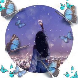 freetoedit challenge remixit butterflys loveallofyouhguys srcbluebutterflies bluebutterflies